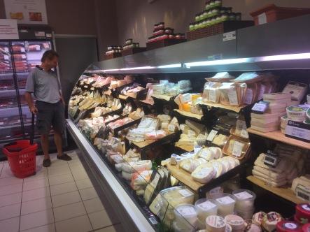 CHEESY french supermarket